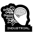 Industrial icon vector image