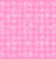 little bear pattern vector image vector image