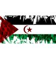 Sahrawi Arab Democratic Republic vector image