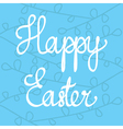 Stock happy easter design isolated vector image
