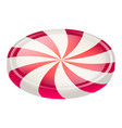 swirl candy icon isometric style vector image vector image