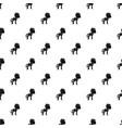 little pony pattern vector image