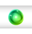 abstract circle green vector image vector image