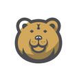 bear forest brown predator cartoon vector image vector image