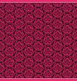 boho pattern with beautiful design 4 vector image vector image