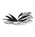 isolated spa icon vector image vector image