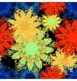 mandala pattern Oriental 2 vector image vector image