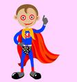 superboy vector image