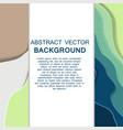 paper art of sale discount concept background vector image