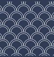seamless wallpaper in the form of fish scales vector image