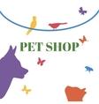 Pets Logo Template vector image
