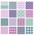16 seamless spring patterns vector image vector image