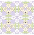 Childrens floral seamless pattern vector image vector image