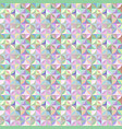 colorful abstract striped shape tile mosaic vector image vector image