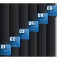 Creative info-graphics template vector image