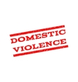 Domestic Violence Watermark Stamp vector image