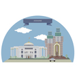 Dushanbe vector image vector image