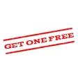 Get One Free Watermark Stamp vector image
