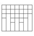 new graph icon thin line vector image