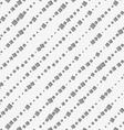 Perforated paper with diagonal square textured vector image vector image