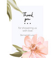 wedding peony floral pastel realisitic invitation vector image vector image