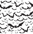 halloween seamless pattern on white vector image