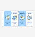 anti-racism commitment onboarding template vector image