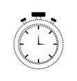 chronometer sticker design vector image vector image