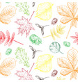 colorful realistic decorative seamless vector image