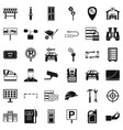 key icons set simple style vector image