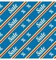 Sale seamless texture with percent discount vector image