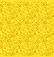 yellow seamless striped mosaic tile pattern vector image vector image