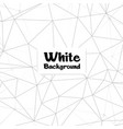 abstract polygonal white color background i vector image vector image