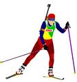al 0719 biathlon 01 vector image vector image