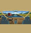 autonomous car feature vehicles new smart vector image vector image