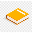 big book isometric icon vector image vector image
