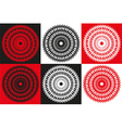 circle abstract isolated vector image vector image