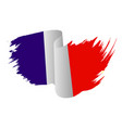 france flag symbol icon design french flag color vector image