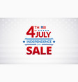 happy 4th july independence day usa sale vector image vector image