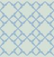 light blue geometric seamless vintage pattern vector image vector image