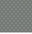Seamless Vintage Heart Pattern vector image