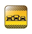 traffic sign parking area for cars vector image