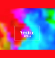 vivid summer colorful gradient abstract bac vector image vector image