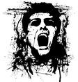 zombie horror vector image vector image