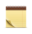 Coil bound notebook vector | Price: 1 Credit (USD $1)