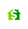 home money logo icon design vector image
