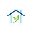 house green leaf logo