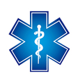 medical symbol vector image vector image