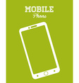 Mobile Phone design vector image