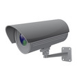 security camera gray cctv surveillance system vector image